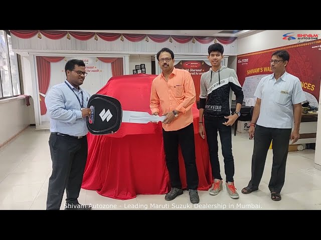 Taking 1st delivery of S-presso from Shivam Autozone |Mumbai
