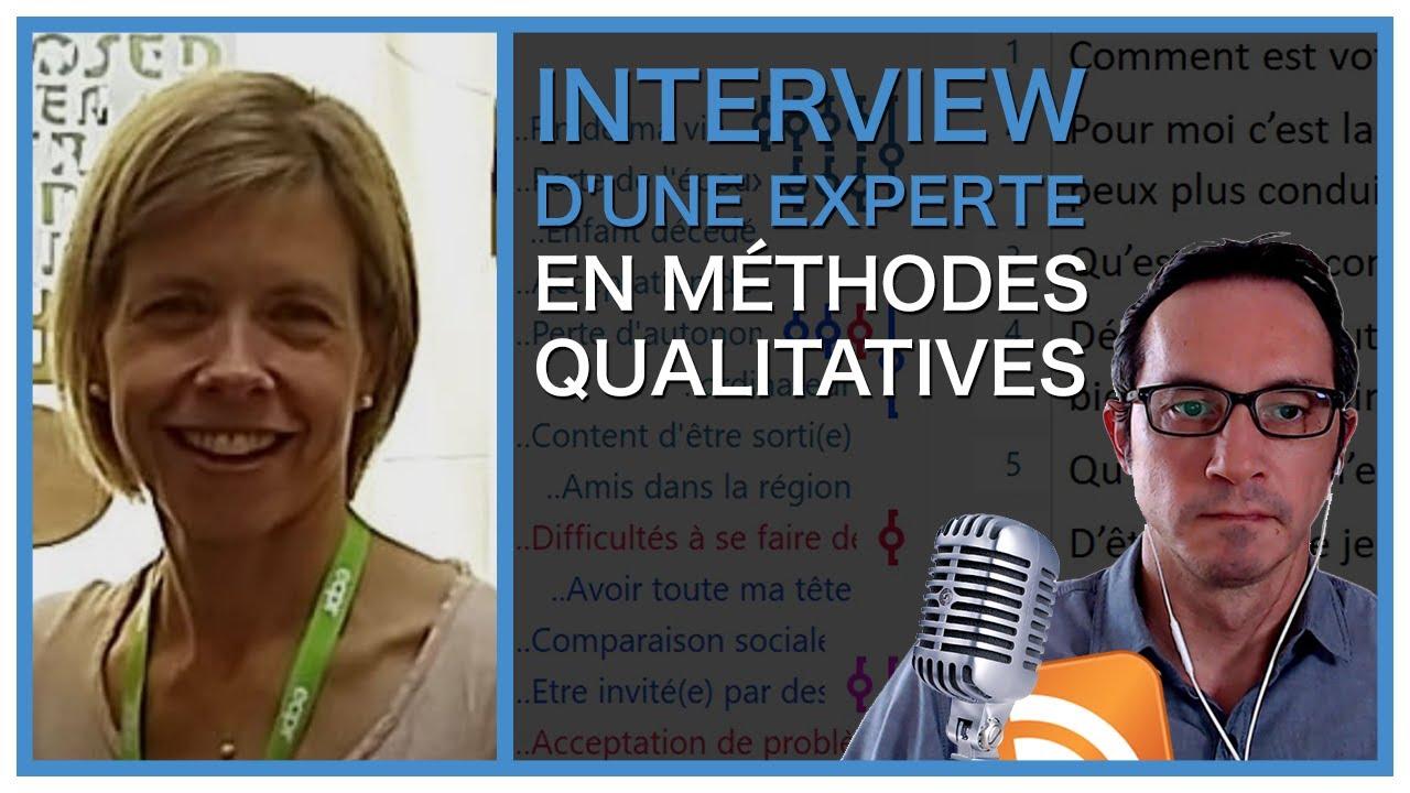 Interview d'une experte en méthodes qualitatives - Marie-Hélène Paré #interview #methodorecherche