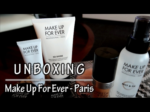 Unboxing Make Up For Ever Professional Paris (Bahasa Indonesia)