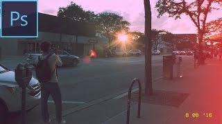 كيفية إنشاء فيلم الكاميرا تبدو في فوتوشوب CC التعليمي