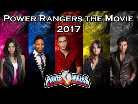 Power Rangers THE MOVIE 2017 - FINAL Official Casts !!!