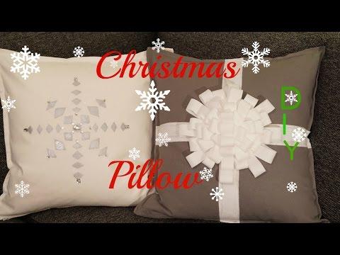 DIY:Как сделать Новогодние подушки своими руками