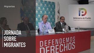Migrar con derechos: Jornada de la Defensoría y la Fundación Embajada Abierta