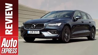 New Volvo V60 review - premium Swedish estate is cool and different