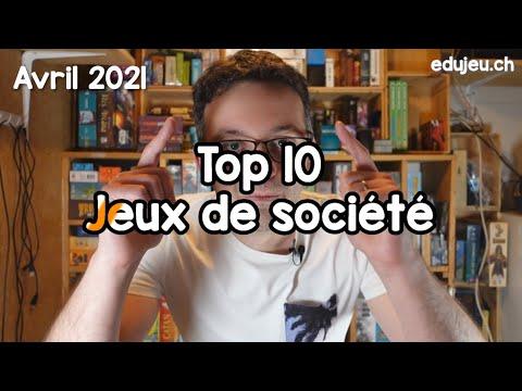 Top 10 Jeux de société