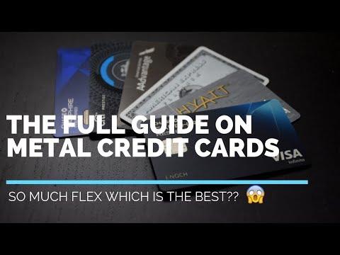 BEST METAL CREDIT CARDS 2019