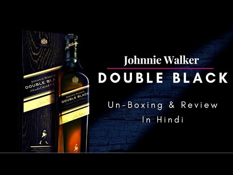 Double Black Unboxing & review in Hindi   Johnnie Walker Double Black Whisky Review in Hindi