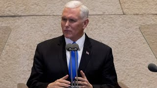 Pence says U.S. will move embassy to Jerusalem next year