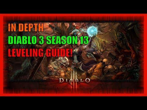:: COMPLETE Diablo 3 Season 13 Start of Season Leveling Guide :: Gambling Priorities Included ::
