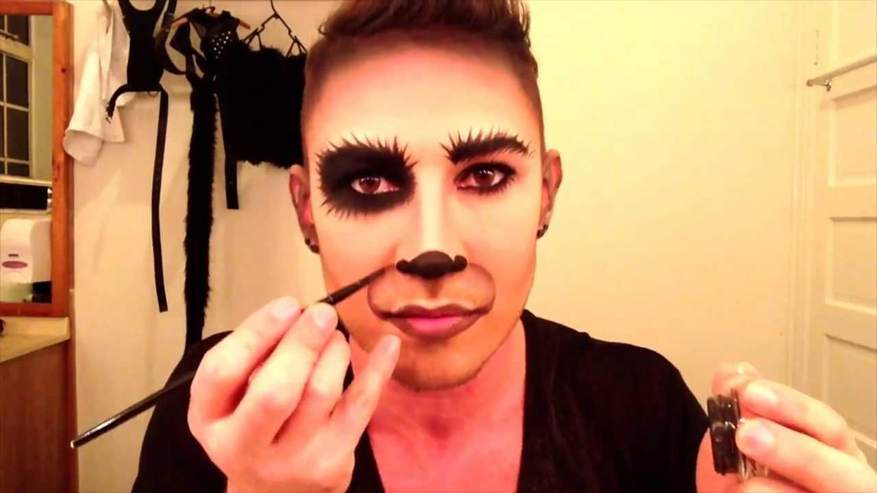 Dog halloween makeup