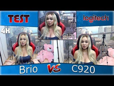 Обзор I Тесты I Сравнение Logitech BRIO 4K