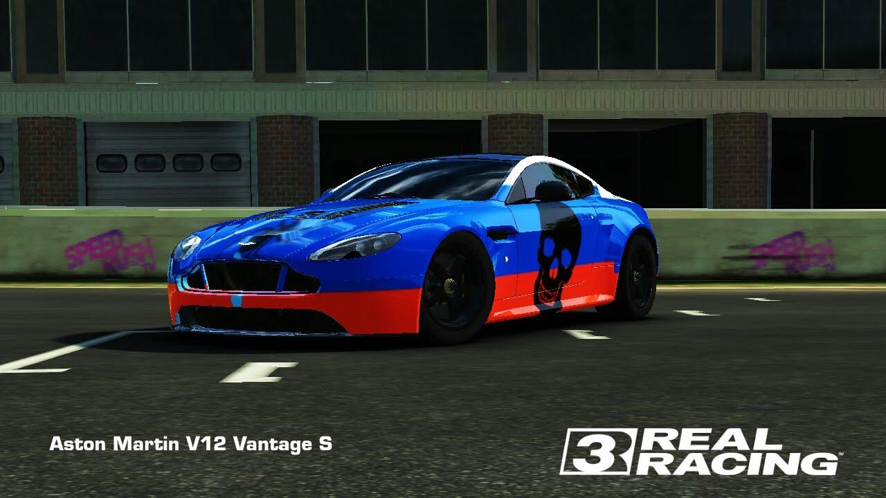 aston martin v12 vantage s.real racing 3.russia - youtube