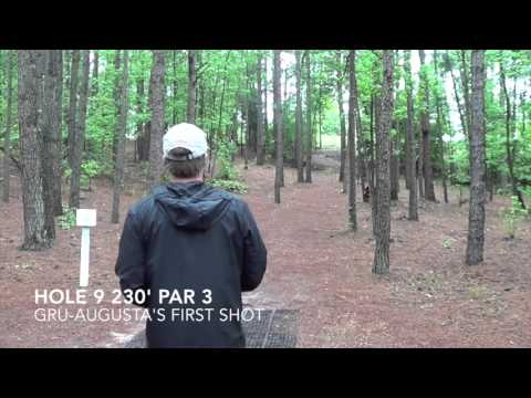 2015 National Collegiate Disc Golf Championship Round 2 - Or