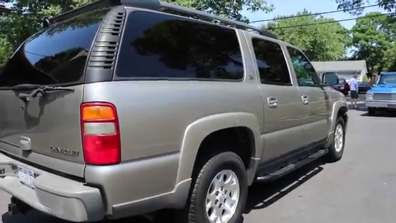 2003 chevrolet suburban z71 for sale low miles one owner low miles loaded youtube