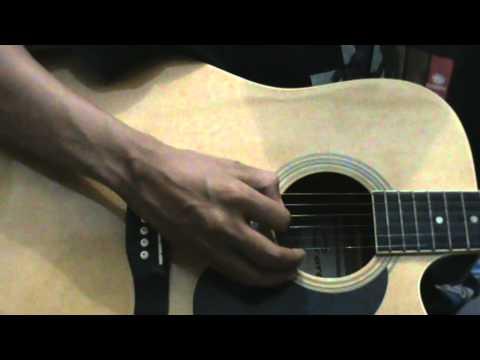 Standard Guitar DADGAD Tuning A=440Hz
