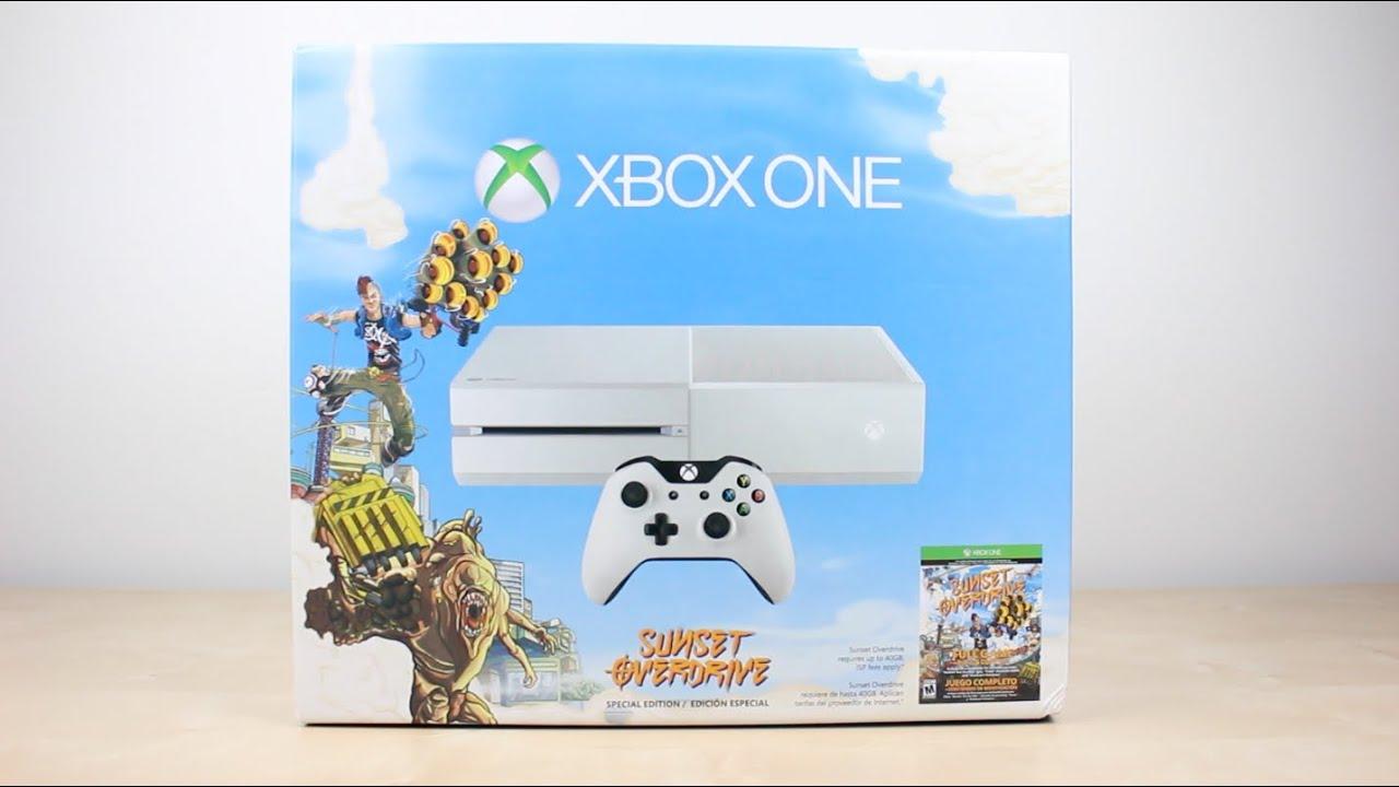 Xbox One Sunset Overdrive Bundle (White) (Unboxing) - YouTube