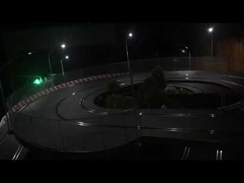 Carrera Slot Track – Custom with Street Lights