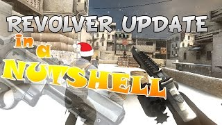 CS:GO R8 REVOLVER  (WINTER UPDATE) :D