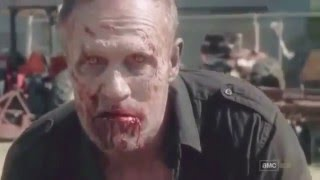 The walking dead all  character death  scenes