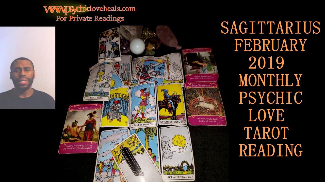 sagittarius love february tarot