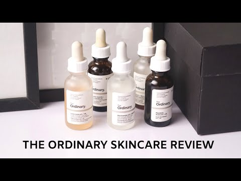 I TRIED 14 PRODUCTS FROM THE ORDINARY PT. 1 | Ascorbic Acid, Arbutin, Niacinamide, Mandelic, Lactic