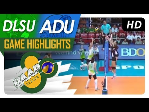 UAAP 80 WV: DLSU vs. AdU | Game Highlights | April 11, 2018
