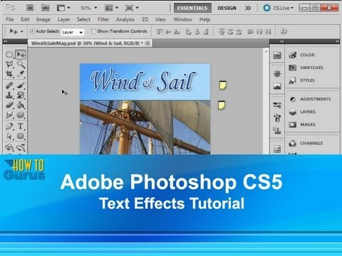 Cs5 adobe tutorial pdf photoshop