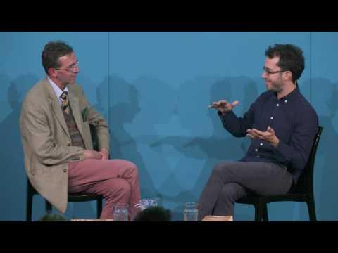 Jonathan Safran Foer at the Edinburgh International Book Festival