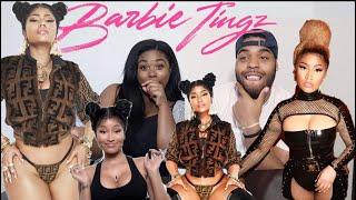 Nicki Thicckkk ️ Nicki Minaj Barbie Tingz Music Audio Reaction
