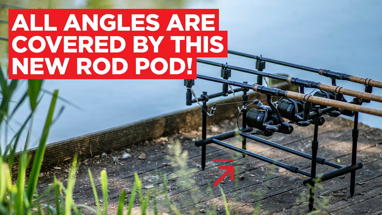 All angles are covered by this new rod pod from New Direction!