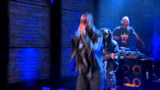 Tinie Tempah rocks out on US Television Live on Conan