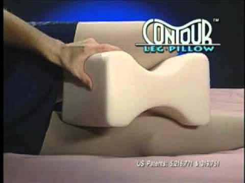 Contour Leg and Knee Pillow Video YouTube