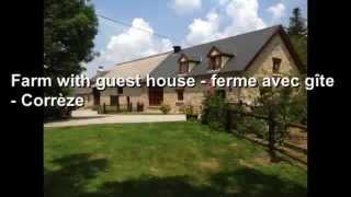 Property in France For Sale - Natural  stone farm with gite