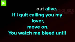 Stitches ~ Shawn Mendes Karaoke Version ~ Karaoke 808