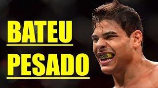 Paulo Borrachinha revela oferta por disputa de cinturão do #UFC e provoca Israel Adesanya