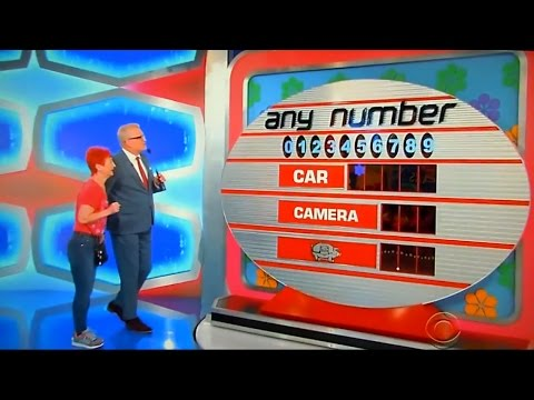The Price is Right - Any Number - 1/16/2017
