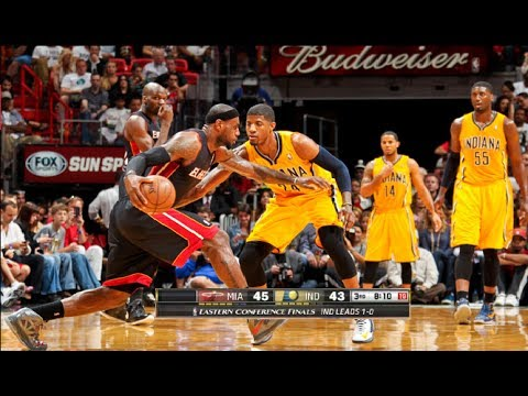(Game Recap) Miami Heat vs Indiana Pacers Game 2 NBA Playoffs 2014 (Heat Even Series Up 1-1)