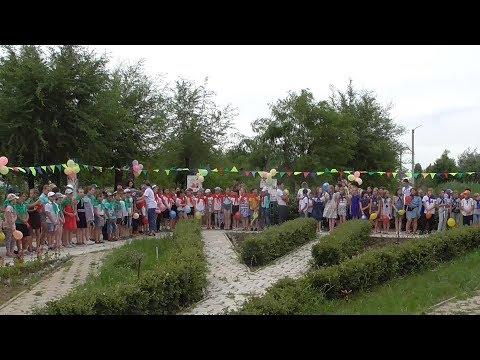 В детском оздоровительном лагере «Чайка» стартовала первая смена