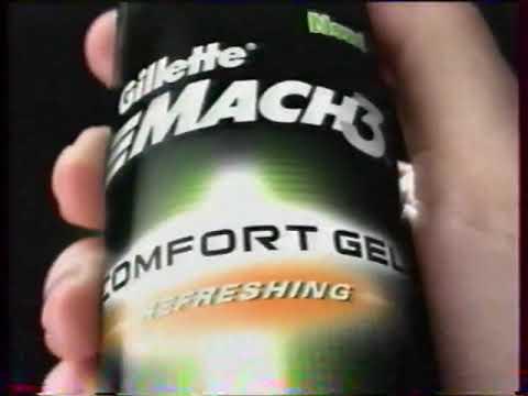Реклама Gillette Mach3 Comfort 2005
