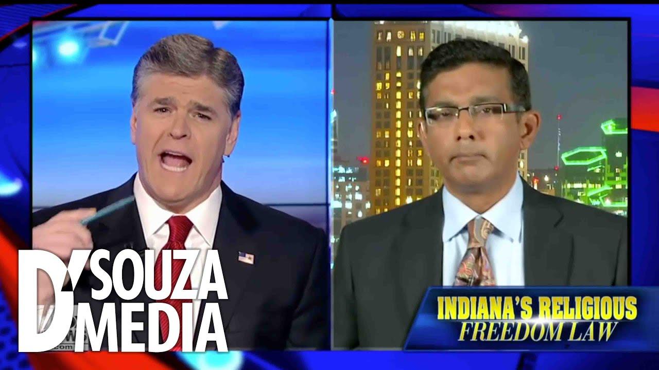 Resultado de imagen para fox news Sean Hannity o Dinesh D'Souza