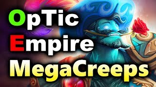 OPTIC vs EMPIRE - EPIC MEGACREEPS! - FINAL ASUS ROG MASTERS DOTA 2