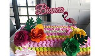 Bolo Flamingo com Bico 96 Mago