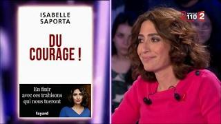 Isabelle Saporta - On n'est pas couché 25 mars 2017 #ONPC