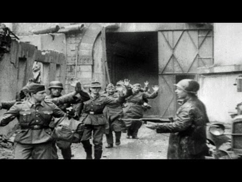 HD Stock Footage WWII Lest We Forget R2 - D-Day, Amphibious Assault, Allies  Advance Across France