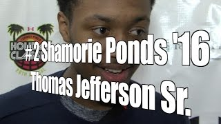 Shamorie Ponds '16, Jefferson Senior at 2015 UA Holiday Classic