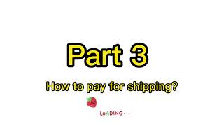 How To Shipping From Taobao To Usa Part 3, Taobao Shipping Guide Tutorial $3/lb!