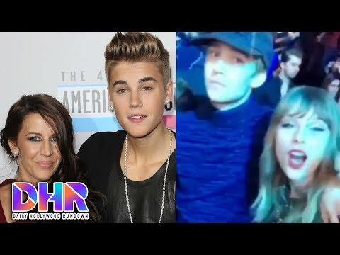 Taylor Swift & Joe Alwyn MAJOR PDA - Keaton Jones Gets Love From Justin Bieber (DHR)
