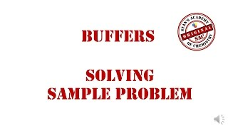 Buffer Sample Problem | How to solve pH of Buffer Questions | Acid Buffers