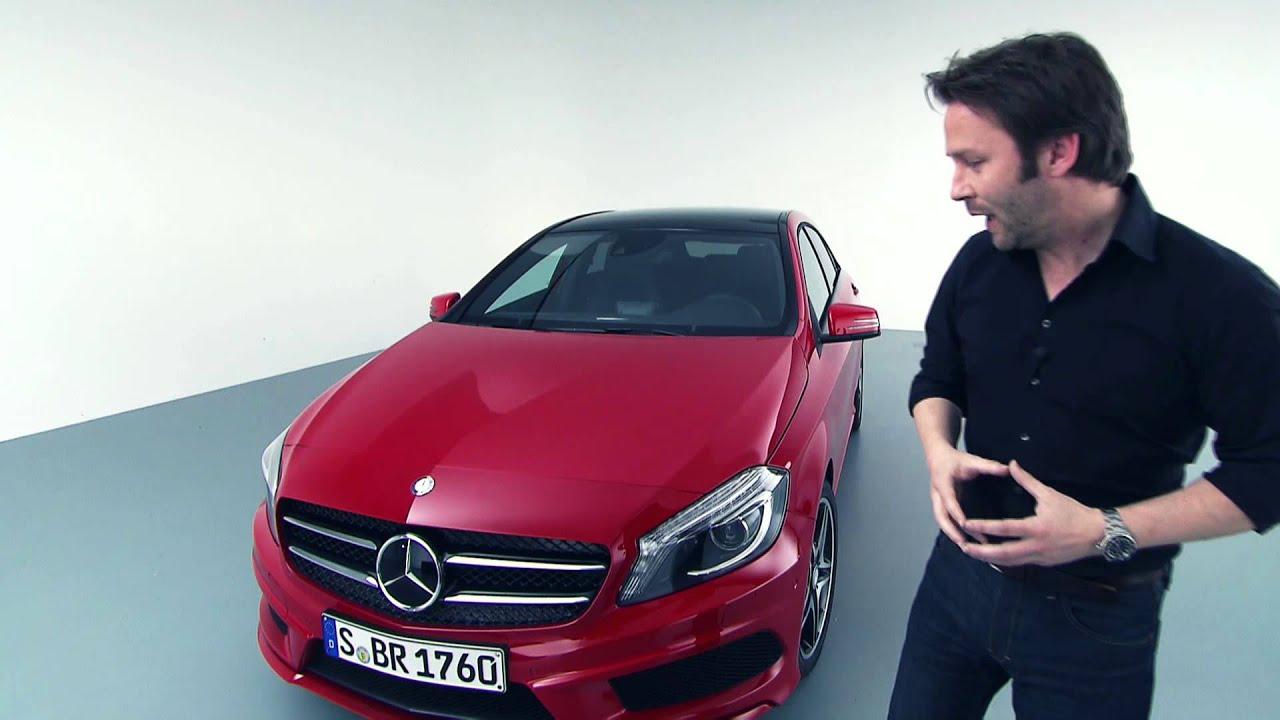 Mercedes-Benz A-Class 2012: Exterior Design (Part I)