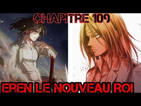 The new king eren chapter 109 attack on titan